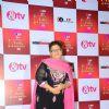 Saroj Khan at Indian Telly Awards