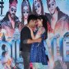 Varun Dhawan and Kriti Sanon at Promotions of 'Dilwale' at Mithibai College