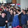 Varun Dhawan, Varun Sharma and Kriti Sanon at Promotions of 'Dilwale' at Mithibai College