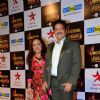 Udit Narayan with wife Deepa at Big Star Entertainment Awards