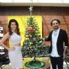 Sunny Leone Celebrates Christmas With 'Mastizaade Co Star' Vir Das