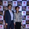 Sonali Bendre and Goldie Behl pose for the media at the 22nd Annual Star Screen Awards
