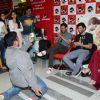 Fan performs for Kat and Adi at the Promotions of Fitoor on Fever FM