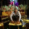 Suniel Shetty : Sunil Shetty with lots of gold and jewellery