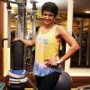 Mandira Bedi : Mandira Bedi shares her fitness mantra at 'Muscle Talk' Gym in Chembur