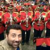 Sunny Deol : Sunny Deol Meets Delhi BSF Camp for Promotion of Ghayal Once Again