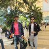 Rahul Dev and Arjan Bajwa Snapped at Airport
