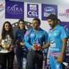 Kriti Sanon, Preity Zinta and Sohail Khan Snapped at CCL Match
