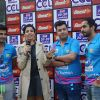 Varun Sharma, Omkar Kapoor and Sunny Singh at 'Celebrity Cricket League' Match