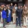 Prakash Jha and Manav Kaul Visits Police Station to Promote Jai Gangaajal | Jai Gangaajal Photo Gallery