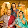 Alok Nath : Abha with her Parents