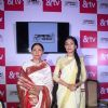 Deepti Naval and Amrita Rao at Launch of &TV's 'Meri Awaaz Hi Pehchaan Hai'