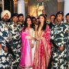 Aishwarya Rai Bachchan and Richa Chadda with 'Jawans' at Poster Launch of 'Sarabjit'