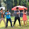 Arjun Kapoor Promotes Ki and Ka on a TV Show Set