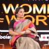 Shabana Azmi at 'Women Of Worth' Conclave hosted by NDTV & Lo'real Paris
