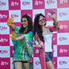 Madhurima Tuli and Yuvika Choudhary with &TV Celebrating Holi