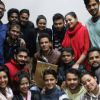 Manoj Bajpayee : Manoj Bajpayee Distributes DVD's among School Students