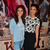 Alia Bhatt and Parineeti Chopra at Special Screening of 'Ki and Ka'