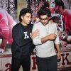 Ranveer Singh and Arjun Kapoor at Special Screening of 'Ki and Ka'