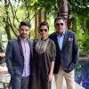 Vir Das, Neha Dhupia and Boman Irani at Press Meet of 'Santa Banta Pvt. Ltd.'