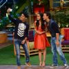 Baaghi Promotions: Tiger & Shraddha clickselfie with host of 'The Kapil Sharma Show' Kapil  Shrama