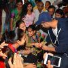 Varun Dhawan meets Blind Girls at an NGO