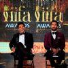 Farhan Akhtar and Shahid Kapoor at IIFA Press Meet