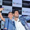 Jacqueline Fernandes and Sidharth Malhotra at 'Leeco' Mobile Launch