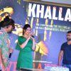 Toshi Sabri, Zarine Khan and Sachin Joshi at Song Launch of Veerappan 'Khallas'