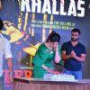 Toshi Sabri, Zarine Khan, Ram Gopal Varma and Sachin Joshi at Song Launch of Veerappan 'Khallas'