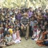 Amitabh Bachchan : Amitabh Bachchan shoots with deaf and mute children for TE3N