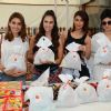 Illeana D'cruz & Mouni Roy at Lauren Gottlieb's 'Leap for Hunger' charity event on her 28th Birthday
