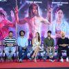 Ekta Kapoor, Alia Bhatt, Shahid Kapoor & Diljit Dosanjh at Press Meet of 'Udta Punjab'