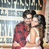 Vishal Singh withy Sana Khan at her Birthday Bash!