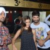 Diljit Dosanjh and Shahid Kapoor, Alia Bhatt Vists PVR Theatre to Watch Audience's Reaction for Udta