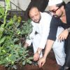 Ajaz Khan does tree plantation 'Van Mahotsav Week'