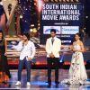 Sudheer Babu and Radhika Apte at SIIMA Awards 2016