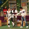 Sunil Grover, Kapil  and Gauahar Khan Promotes the film 'Fever' on the sets of The Kapil Sharma Show
