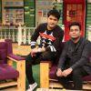 A R Rahman on the sets of The Kapil Sharma Show