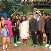 A R Rahman posing with Kapil Sharma and team on the sets of The Kapil Sharma Show