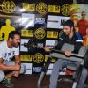 John Abraham and Varun Dhawan works-out for promotions of Dishoom!