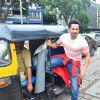 Varun Dhawan's rickshaw ride for Promotion of 'Dishoom'