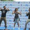 John Abraham, Jacqueline Fernandes and Varun Dhawan Promotes 'Dishoom' in Delhi