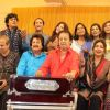Ghazal singers at Rehearsal of the 15th Khazana Ghazal Festival 2016