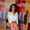 Tannishtha Chatterjee promotes 'Unindian' at Bhabhi Ji Ghar Par hai