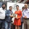 Sunny Leone : Sunny Leone visit Walmart store to promote her new perfume brand 'Lust'