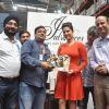 Sunny Leone : Sunny Leone visit Walmart store to promote her new perfume brand 'Lust'