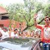 Hrithik Roshan Promotes 'Mohenjo Daro' at Gargi college