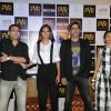 Ileana D'Cruz, Akshay Kumar AND Esha Gupta AT Press Conference of 'Rustom' in New Delhi