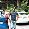 Cricketer Yuvraj Singh Snapped at PVR Theatre